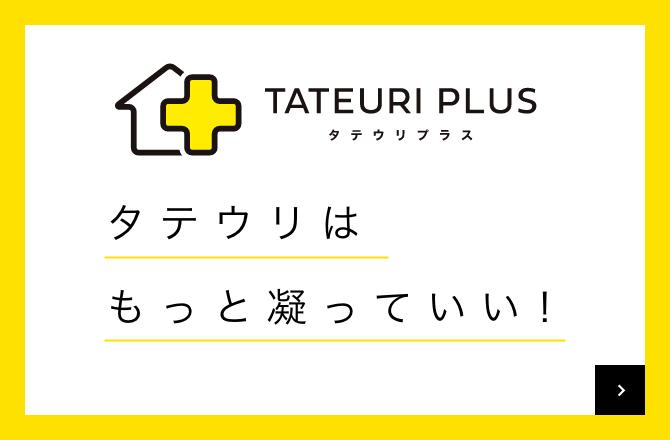TATEURI PLUS タテウリプラス 「建売はもっと凝っていい!」
